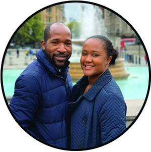 Tim and Nyasha