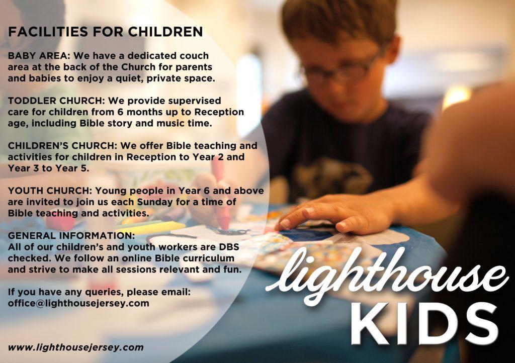 Kids' work at Lighthouse